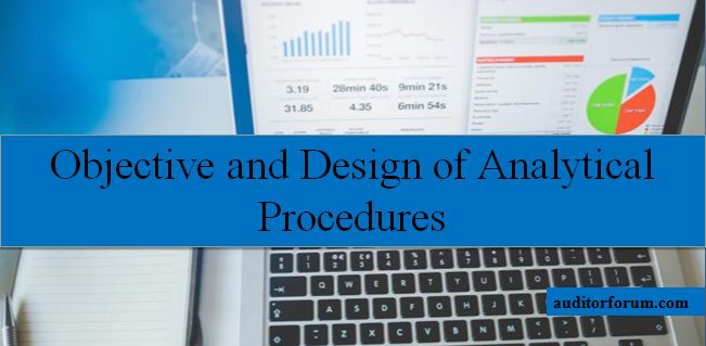 Objective of analytical procedures