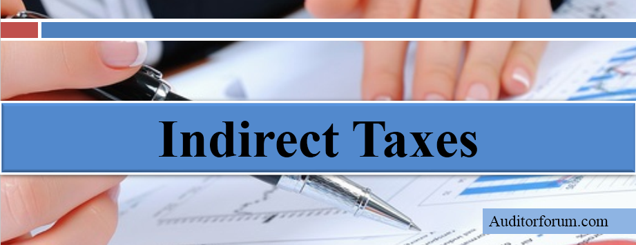 indirect taxes and disadvantages