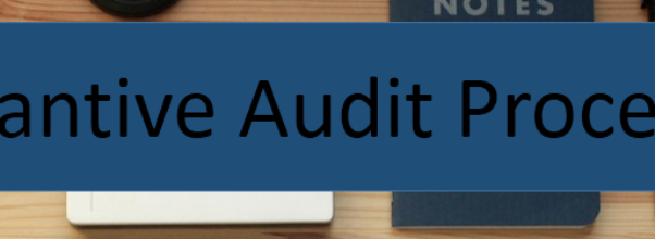 Substantive audit Procedures